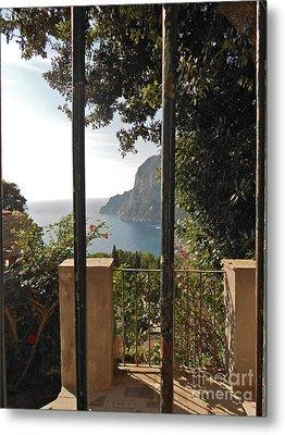 Capri Metal Print by Italian Art