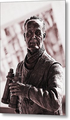 Metal Print featuring the photograph Captain F J Walker by Meirion Matthias