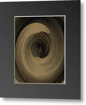 Capuccino Metal Print by Ines Garay-Colomba