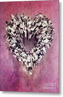 Cardia Metal Print by Priska Wettstein