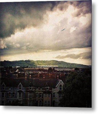 Cardiff City Metal Print by Samuel Gunnell