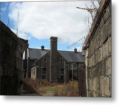 Metal Print featuring the photograph Caretaker's Mansion by Christophe Ennis