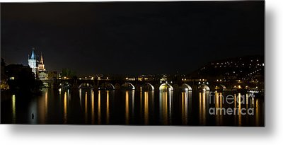 Carls Bridge Metal Print