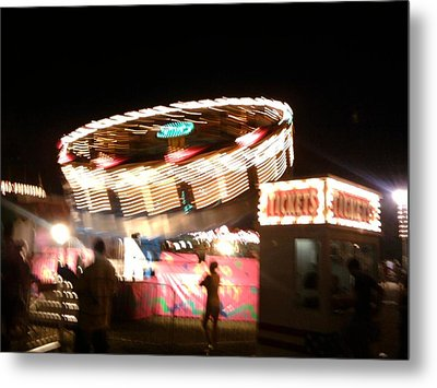 Metal Print featuring the photograph Carnival by Clara Sue Beym