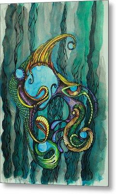 Carnival Fish 2 Metal Print