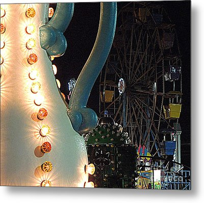 Metal Print featuring the photograph Carnivale by Renee Trenholm