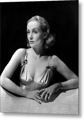 Carole Lombard In Publicity For Vigil Metal Print by Everett