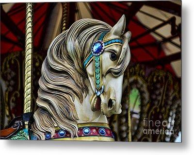 Carousel Horse 3 Metal Print by Paul Ward