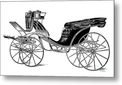 Carriage: Victoria Metal Print by Granger