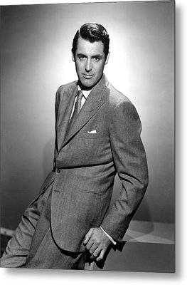 Cary Grant, Ca. 1940s Metal Print by Everett