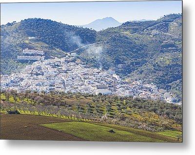 Casabermeja. White Village, Southern Spain. Metal Print by Ken Welsh