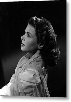 Casablanca, Ingrid Bergman, 1942 Metal Print by Everett