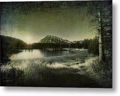 Cascade Pond Banff Metal Print