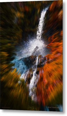 Cascade Waterfall Metal Print by Mick Anderson