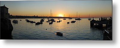 Cascais At Dawn Metal Print