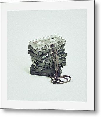 Cassette Metal Print by Sbk_20d Pictures