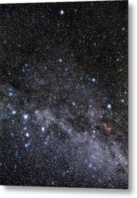 Cassiopeia And Cepheus Constellations Metal Print by Eckhard Slawik