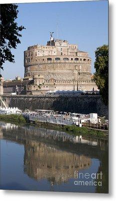 Castel Sant'angelo Castle. Rome Metal Print by Bernard Jaubert
