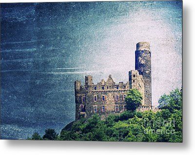 Castle Mouse Metal Print by Angela Doelling AD DESIGN Photo and PhotoArt