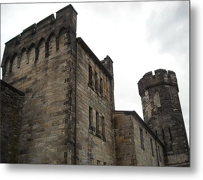 Castle Penitentiary Metal Print by Christophe Ennis