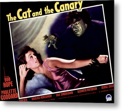 Cat And The Canary, The, Paulette Metal Print