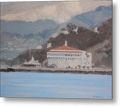 Catalina  Morning Metal Print by Robert Rohrich