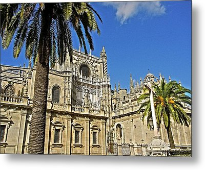 Catedral De Santa Maria De La Sede - Sevilla Metal Print by Juergen Weiss