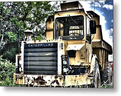 Caterpillar's Front Metal Print by Shane York