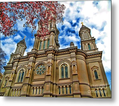Cathedral Metal Print by Jason Abando