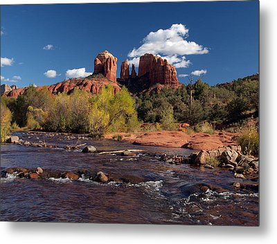 Cathedral Rock Sedona Metal Print by Joshua House