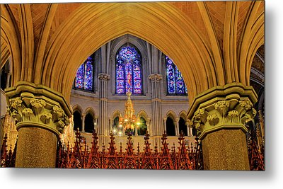 Cathedral Study Metal Print by Dave Mills