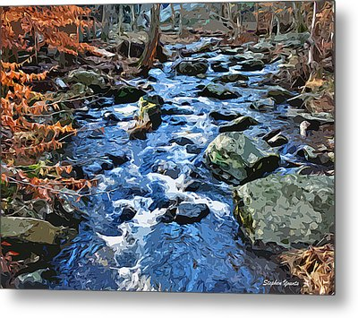 Catoctin Stream Metal Print by Stephen Younts