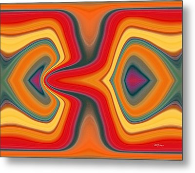 Cause And Effect Metal Print by Greg Reed Brown