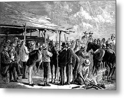 Cavalry Horses, 1876 Metal Print by Granger