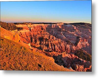 Cedar Breaks Sunset Metal Print by Mark Bowmer