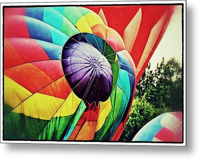 Metal Print featuring the photograph Celebrate America Balloon Fest 1 by Jim Albritton