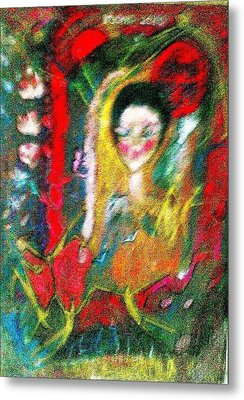 Celebration Of Life.. Be..3 Metal Print by Rooma Mehra