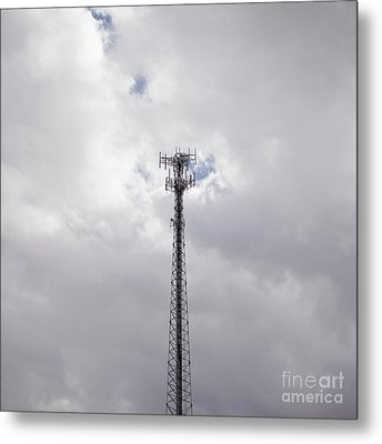 Cell Phone Tower Metal Print by Paul Edmondson