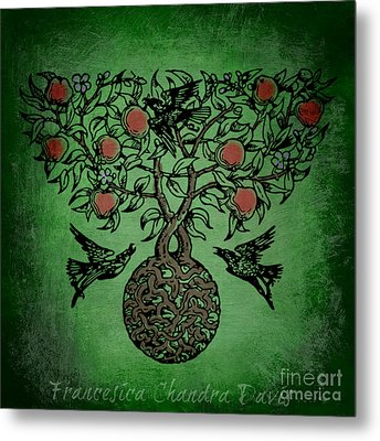 Celtic Tree Of Life Metal Print by Sacred  Muse