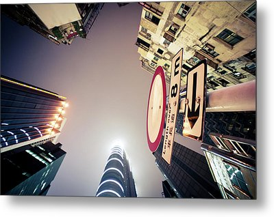 Center Of City Metal Print by Bbq