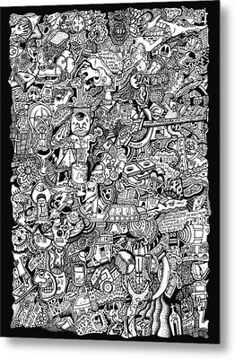 Cerebral Postulation Metal Print