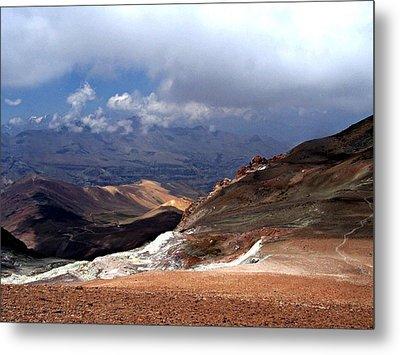 Cerro El Pintor Chile Metal Print