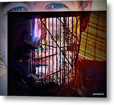 Challenge Enigmatic Imprison Himself Metal Print by Paulo Zerbato