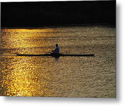 Challenge Yourself Metal Print by Bill Cannon