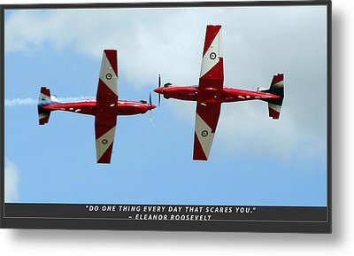 Challenge Yourself Metal Print by Michael Wignall