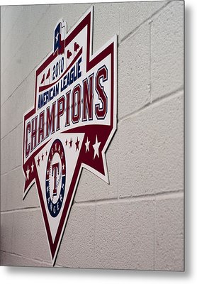 Champions Metal Print by Malania Hammer