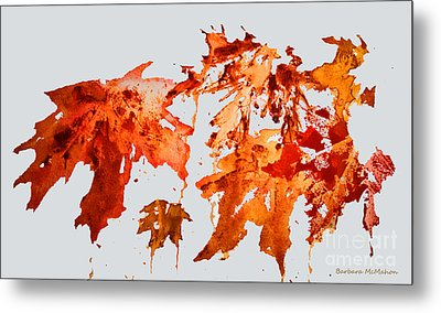 Changing Season Metal Print by Barbara McMahon