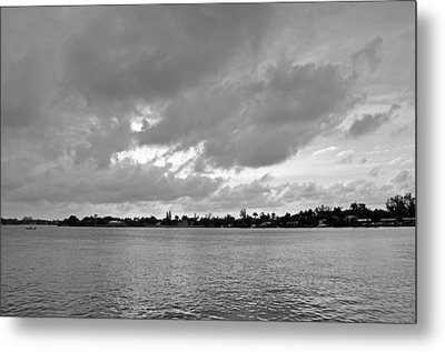 Channel View Metal Print by Sarah McKoy