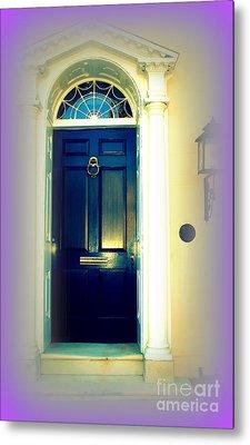 Charleston Door 6 Metal Print by Susanne Van Hulst