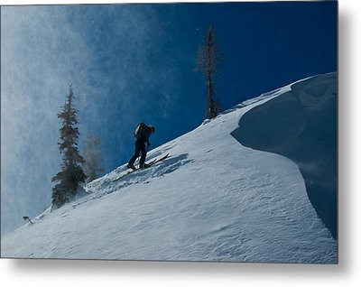 Chasing The Myth Of Sysiphus Metal Print by Robert Fullerton